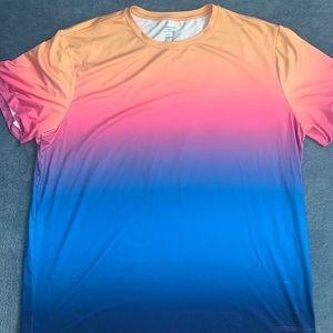 Sunset Ombré Active T-Shirt